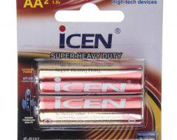 باتری قلمی آیسن مدل Super Heavy Duty بستهی 2 عددی