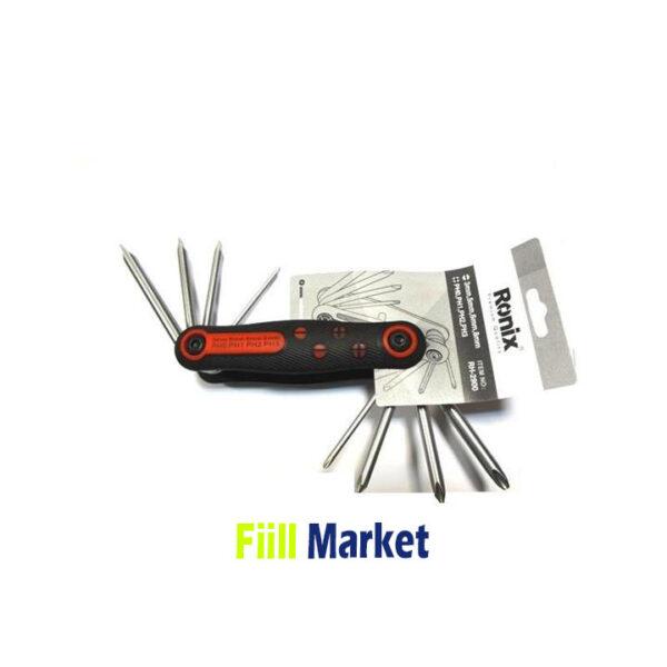 پیچ گوشتی چاقویی 8 عددی مدل RH-2900