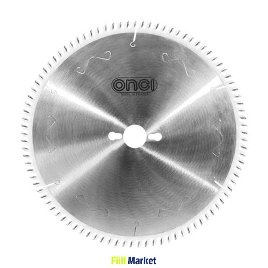 تیغ اره الماسه انسی MDF با زاویه تند 38 درجه 250 *80 مدل LHS066086-1