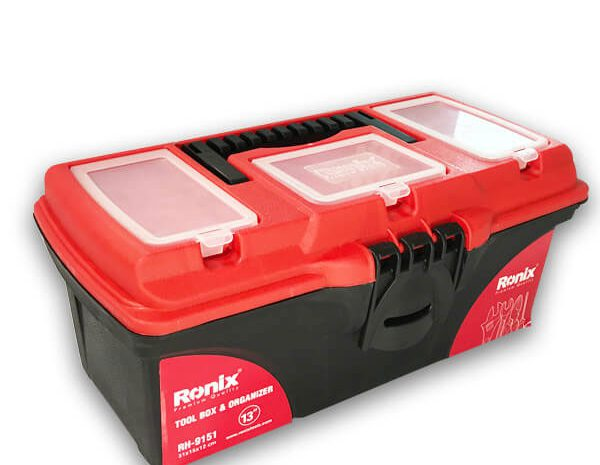 جعبه ابزار پلاستیکی 13 اینچ رونیکس مدل RH-9151