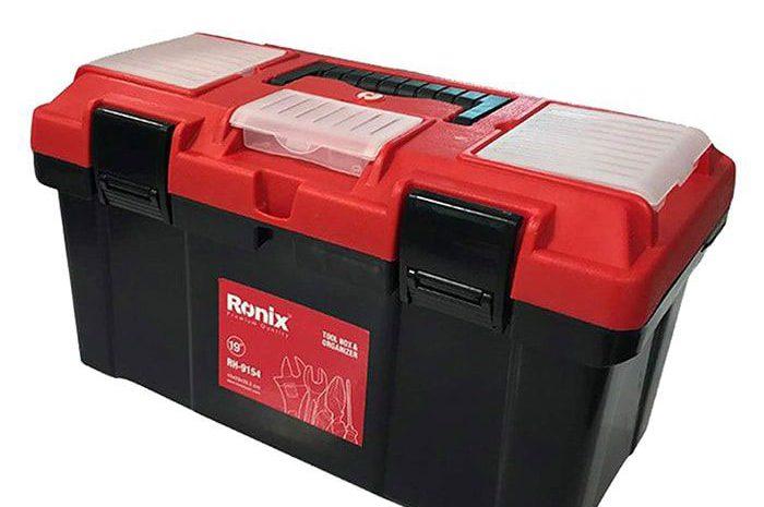 جعبه ابزار پلاستیکی 17 اینچ رونیکس مدل RH-9153