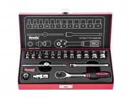 جعبه بکس رونیکس 17 پارچه 1.4 اینچ مدل RH-2617