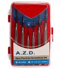 مجموعه 6 عددی پیچ گوشتی ساعتی AZD